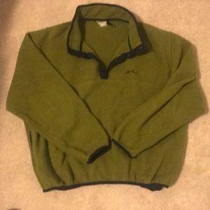 LL Bean women's L fleece pullover
